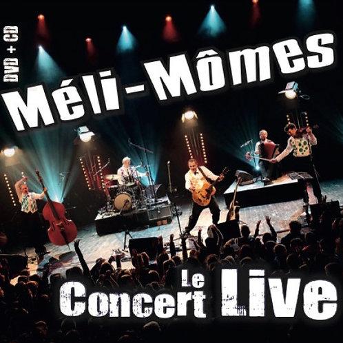 Le concert Live CD + DVD