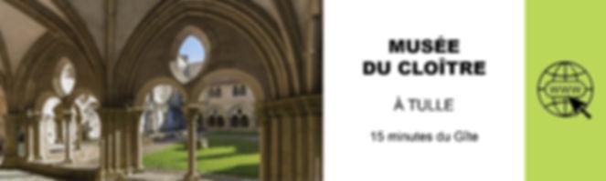 MUSEE DU CLOITRE A TULLE TOURISME EN COR