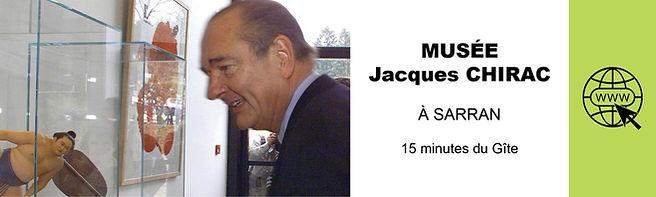 MUSEE JACQUES CHIRAC A SARRAN TOURISME E