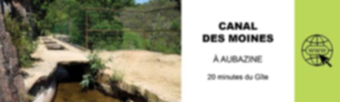CANAL DES MOINES A AUBAZINE TOURISME EN