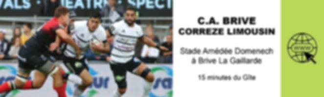 CA BRIVE CORREZE LIMOUSIN RUGBY TOP 14 S