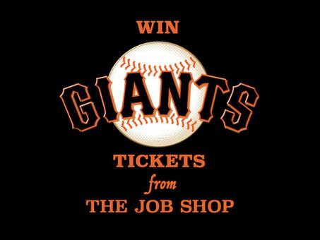 Giants Tickets Winners!
