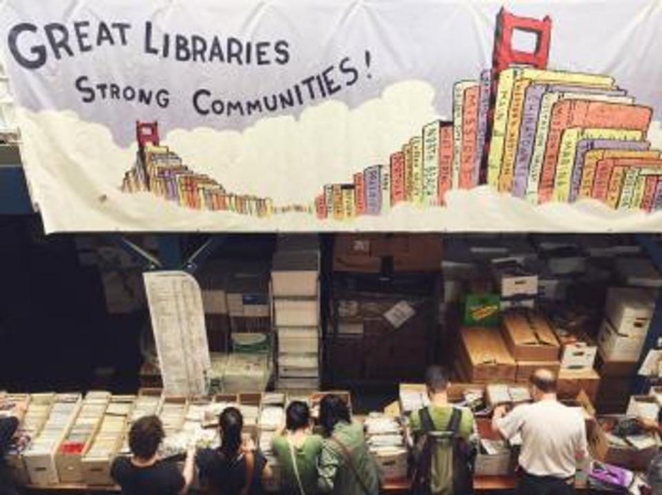 LibrarySale