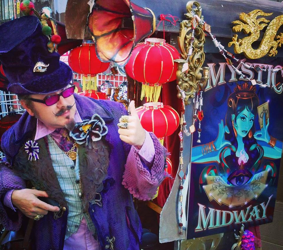 Mystic Midway Salon: A Social Theater of The Marvelous, May 15, The Red Victorian