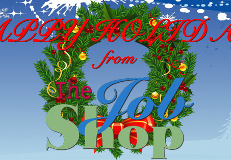 Merry Christmas From All of Us at The Job Shop