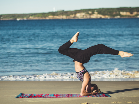 Staying Active at Work, with Yoga