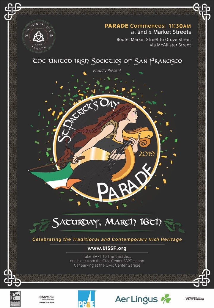 2019 St. Patricks Day Parade Flyer