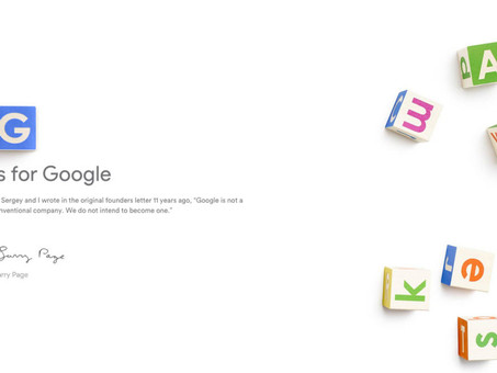 What's Going On With Alphabet? The Google Restructuring