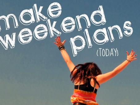 Weekend Planner: November 11