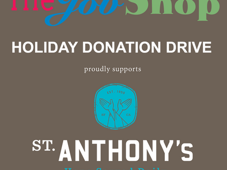 The Job Shop is Doing a Holiday Clothing Drive!