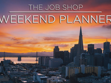Weekend Planner: January 3rd 2020