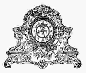 OldDesignShop_DecoratedPorcelainClock