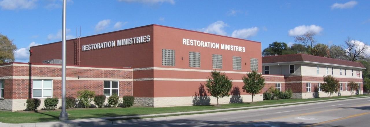 Restoration Ministries building