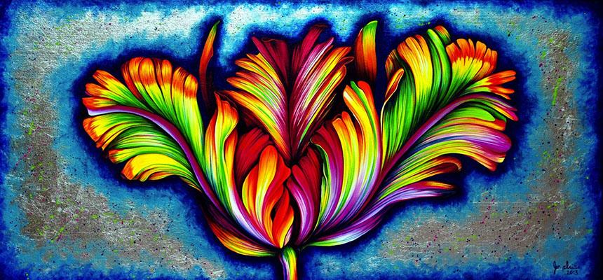 Prismatic Tulip