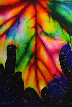 Tripping Colorful Leaf