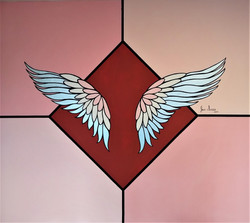 Silver Wings, 2. 50 x 2.50 mts, 2019