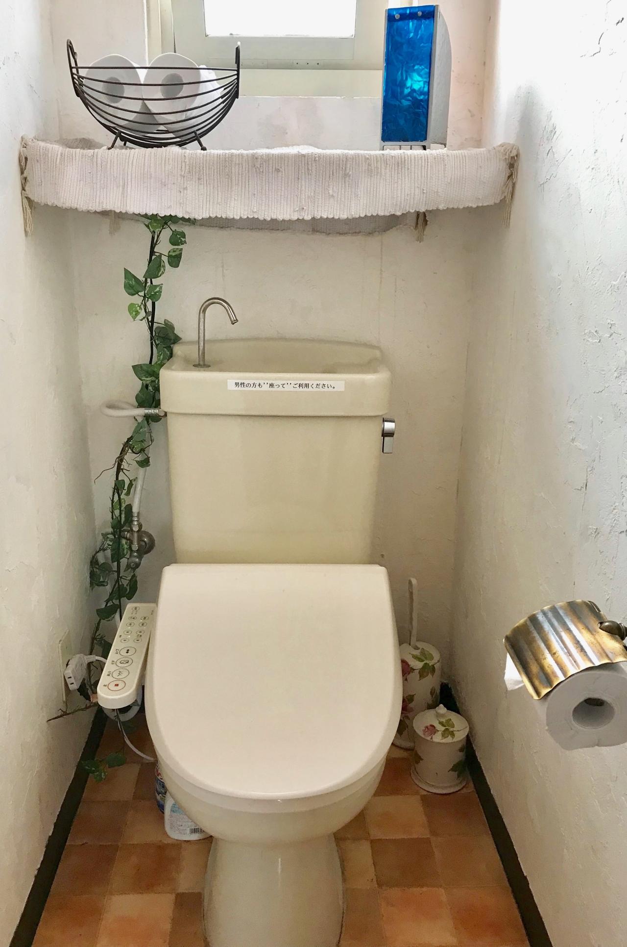 温便座ウォシュレット付トイレ