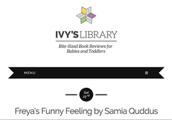 Freya's Funny Feeling Review by Ivy's Library