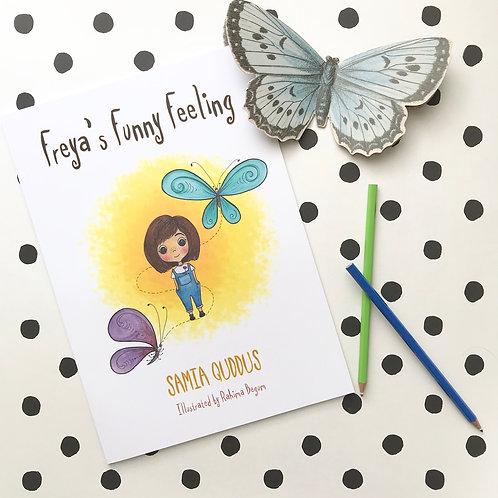 Freya's Funny Feeling Children's Story