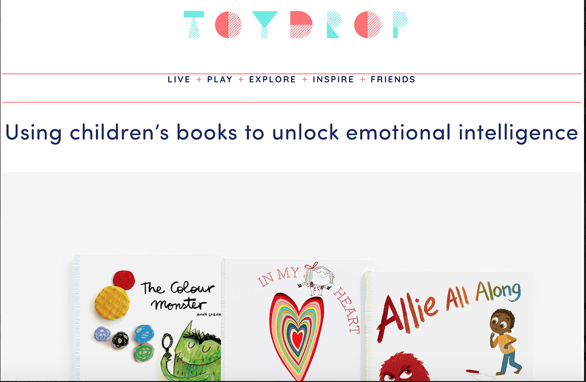 Freya's funny feeling featured in Toydrop magazine, 2019