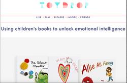 Freya's funny feeling featured in Toydrop magazine, 2019