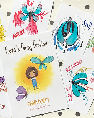 Butterfly Emotion Flashcards