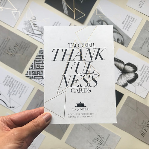 Taqdeer Thankfulness Cards