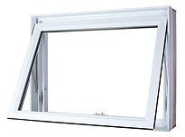Fenêtre PVC à Auvent