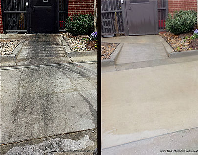 residential concrete cleaning services