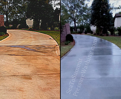 commercial concrete stain removal services