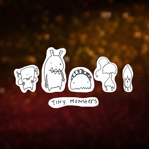 Little Monster Sticker Pack