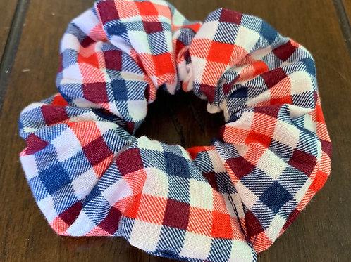 American Plaid Scrunchies