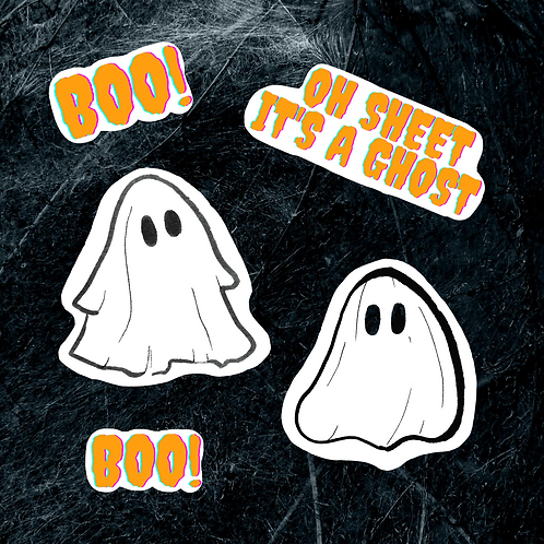 Ghost Sticker Pack