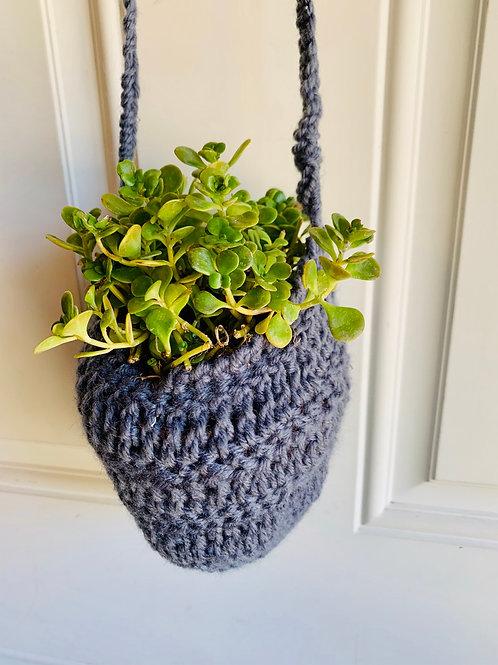 Moon Grey Plant Hanging Basket