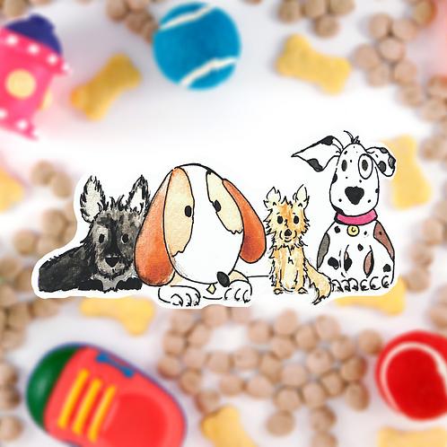 Puppy Dogs Sticker