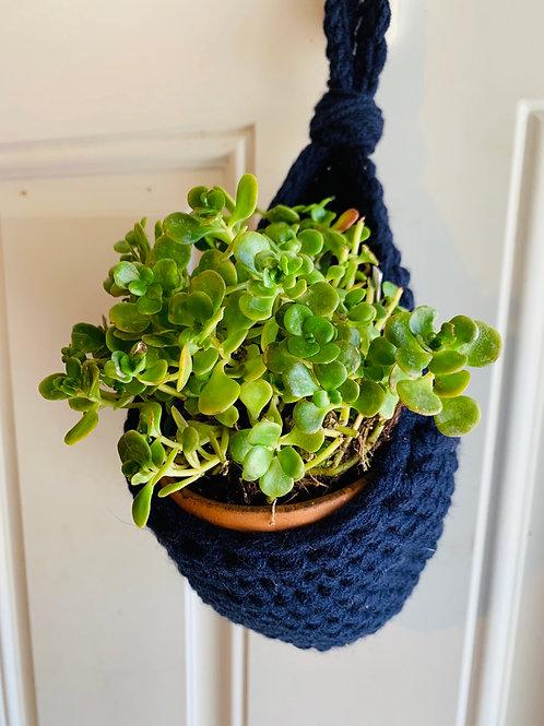 Navy Cocoon Basket