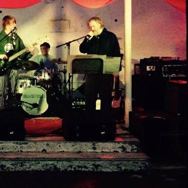 Ed Barton & the Babymen at Islington Mill, Salford, 2014