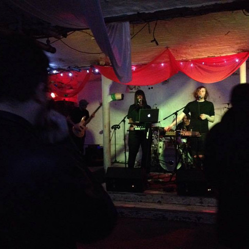 Silverclub at Islington Mill, Salford, 2014