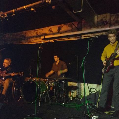Yossarians at Soup Kitchen, Manchester, 2018