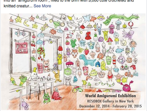 Evento Amigurumi en RESOBOX Gallery