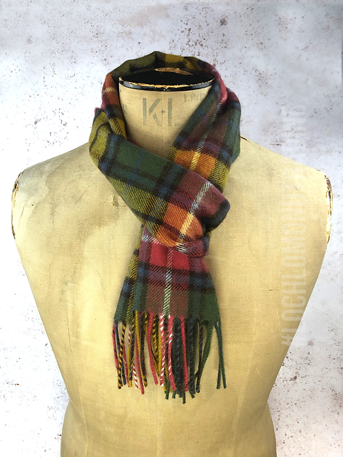 Ancient Buchanan 100% Wool Scarf