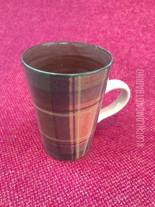 Loch Lomond Tartan Latte Mug