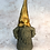 Thumbnail: Bjorn the Outdoor Gnome Resplendent in Gold Hat