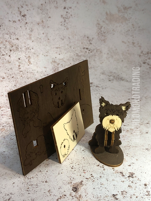Postable 'Make you own Schnauzer' Card kit