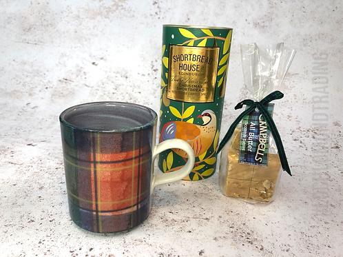 Loch Lomond Tartan Mug and Treats