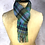 Thumbnail: Lochside Blue & Turquoise Cashmere Scarf