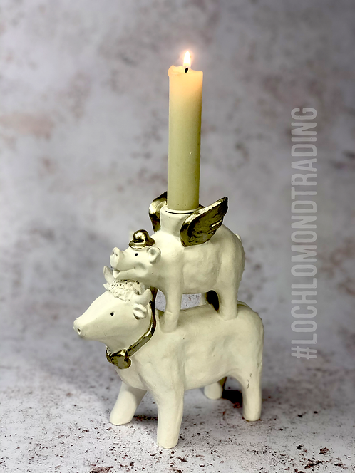 Take a Chance… a very Quirky Candle Holder