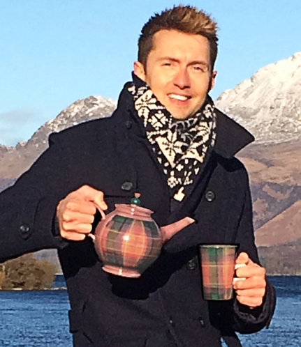 Loch Lomond Tartan Teapot