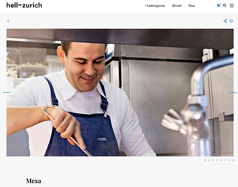 mesa, Zürich / hellozurich.ch