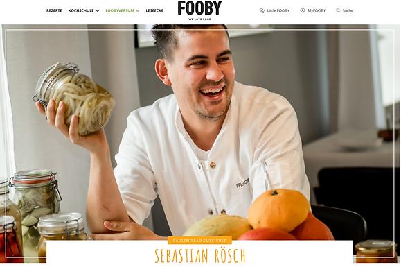 GaultMillau empfiehlt: Sebastian Rösch / fooby.ch